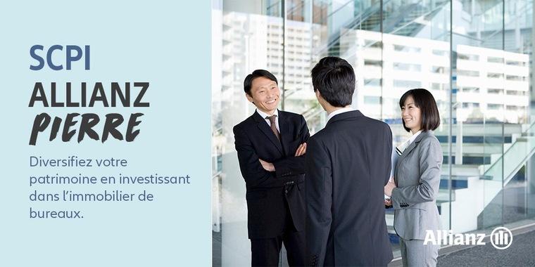SCPI Allianz Pierre : diversifiez votre patrimoine en investissant dans l'immobilier
