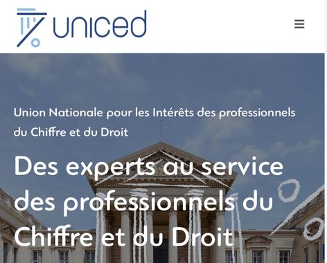 UNICED : des experts au service des professionnels du Droit et du Chiffre